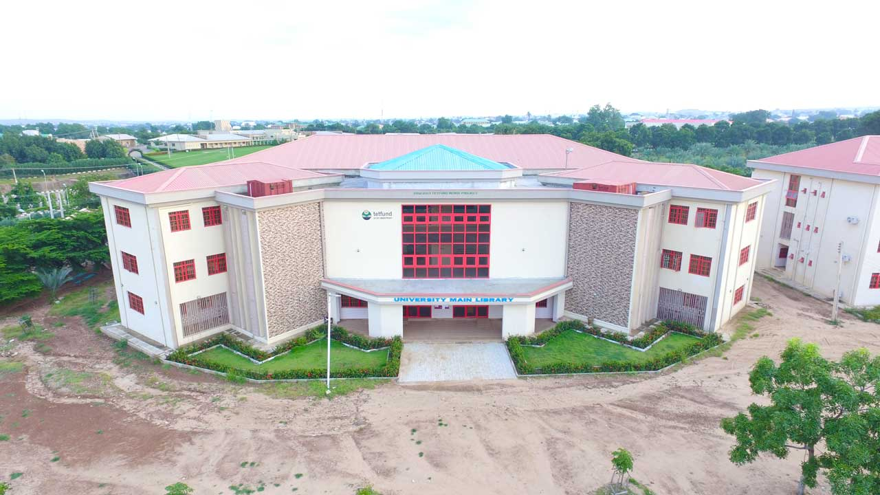 Gombe state university Main library